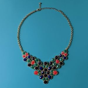 Multicolor Statement Necklace
